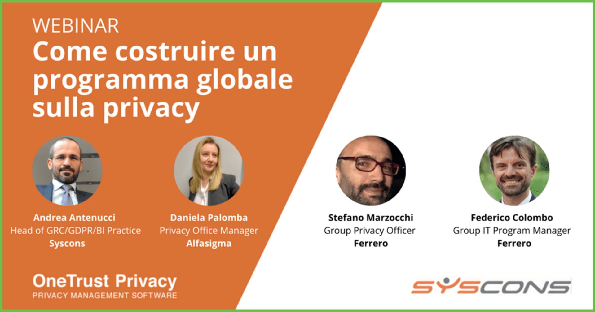 programma privacy