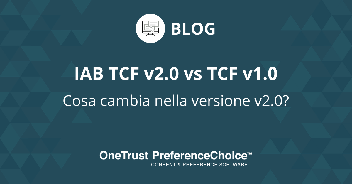 IAB TCF v2.0